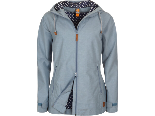 Elkline Singingintherain Regenjacke Damen blue-denim
